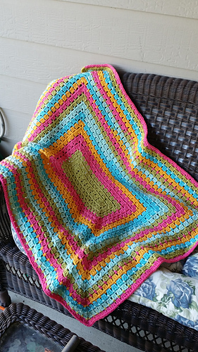 Ravelry Modern Granny Afghan Pattern By Jeanne Steinhilber
