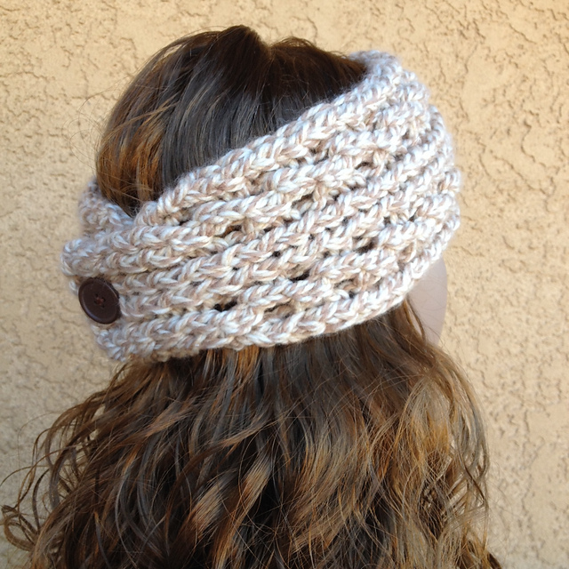 Ravelry Lace Ribbed Ear Warmer Pattern By Dayna Scoles