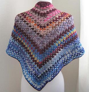 Ravelry Easy Crochet Shawl Pattern By Kathy North
