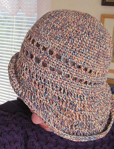 Ravelry Fireman Style Brim Hat Pattern By Kathy North