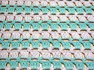 Ravelry: Block-stitch Baby Blanket pattern by Kathy North