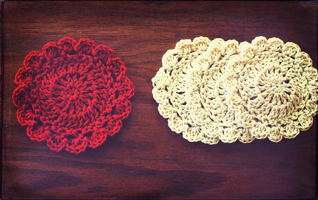 Ravelry Little Petal Coaster Pattern By Amanda Tipton