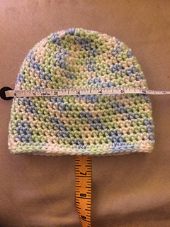 Ravelry Basic Half Double Crochet Hat Pattern By Rhondda