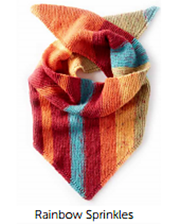 Ravelry: Triangle Knit Shawl pattern by Yarnspirations