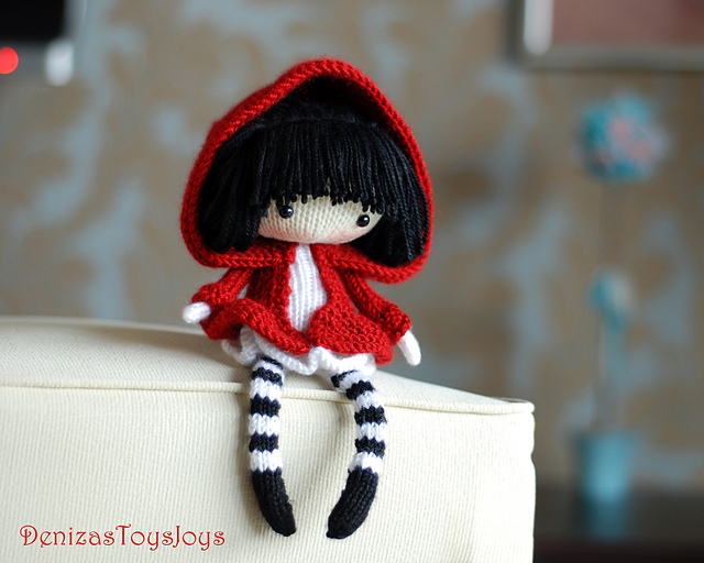 Ravelry Denizas Knitted Dolls Patterns