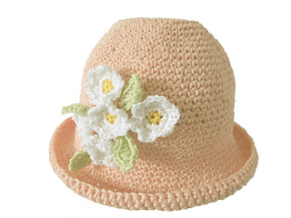 Ravelry Cotton Daisy Cloche Hat Pattern By Audrey Wilson
