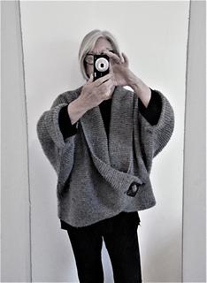 018501c9f9008d Ravelry  Aran Shawl Collar Cardigan pattern by Audrey Wilson