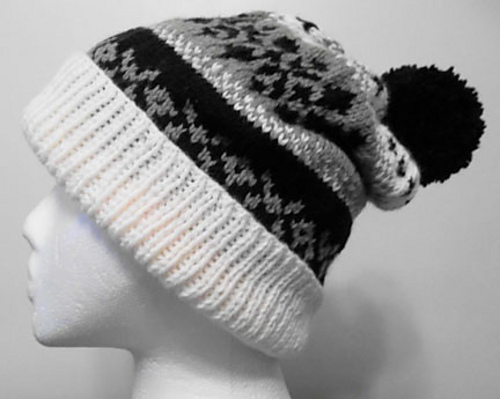 Ravelry: Fair Isle Ski Hat pattern by Audrey Wilson
