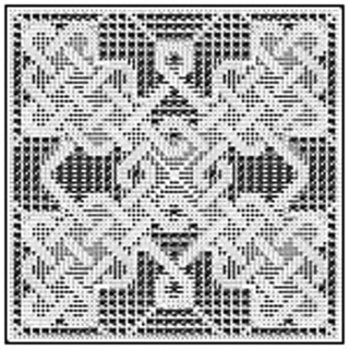 Ravelry Celtic Square For Filet Crochet 009 Pattern By