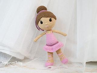 Ravelry: Ballerina Doll pattern by Amigurumi Today