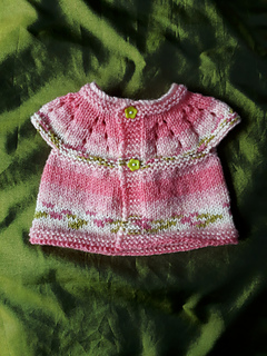 67ce7e67f Ravelry  Lazy Daisy All-in-One Top for Preemies pattern by marianna mel