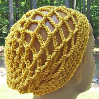 Ravelry  Summer Mesh Slouch Hat pattern by Diane Lupton 8053f08432f