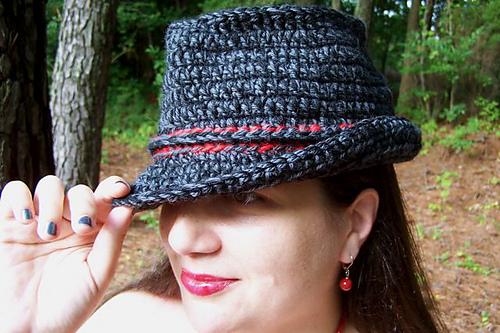 Ravelry Crochet Trilbyfedora Pattern By Diane Lupton