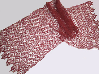 Knitting Patterns Database By Zorac : Ravelry: Schal / scarf *Zora* pattern by Birgit Freyer