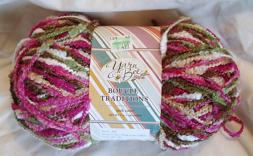 Ravelry: Yarn Bee Boucle Traditions