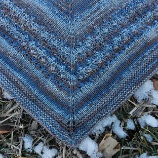 Ravelry Winter Thaw Shawl Pattern By Julia Schwartz