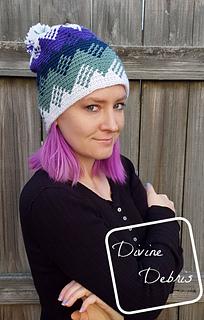 Montana Hat pattern by Divine Debris