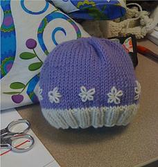 Ravelry  Basic Baby Hat pattern by Heather Tucker 2c87f703d78