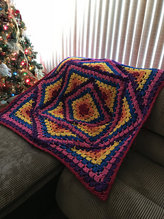 Ravelry Rainbow Kaleidoscope Pattern By Deanne S Designs