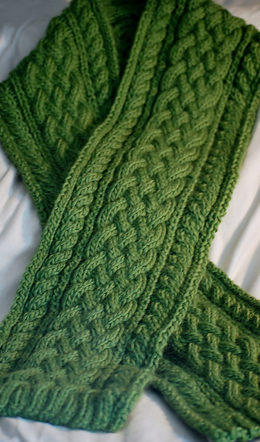 Ravelry Celtic Braid Scarf Pattern By Deborah Lawless