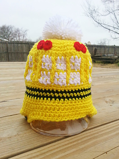 ebb3e5108f9 Ravelry  School Bus Hat (Adult Child size) pattern by Donna Knox