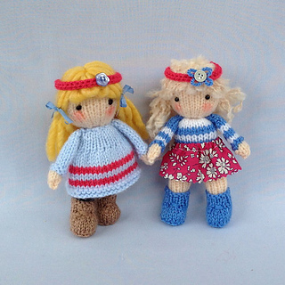 a5ba71947f7e Ravelry  Little Belles pattern by Wendy Phillips