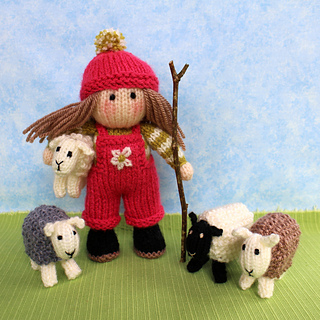 7a1cd9f0116208 Ravelry  Bo Peep and her sheep pattern by Wendy Phillips
