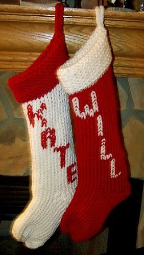 Ravelry Large Christmas Stocking Pattern By Brenda Myers