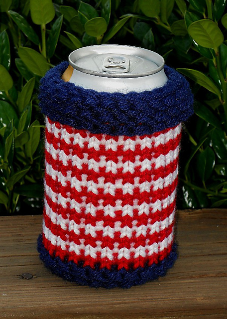 Ravelry Quick Can Koozies Pattern By Brenda Myers