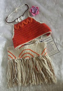 Ravelry  Moana Toddler Costume pattern by Donna Wilby 9cc5e4aa310
