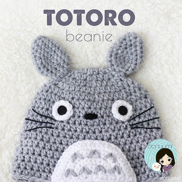 Ravelry My Neighbor Totoro Beanie Hat Pattern By Doris Yu