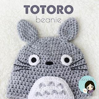 Ravelry  My Neighbor Totoro Beanie Hat pattern by Doris Yu dd2f927909a