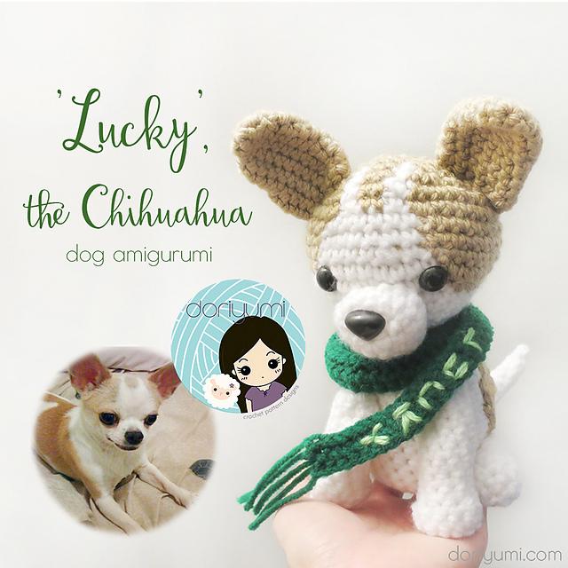 Ravelry Lucky The Chihuahua Dog Amigurumi Pattern By Doris Yu
