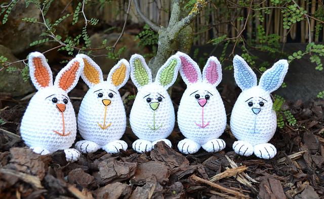 Ravelry little easter bunnies pattern by joanne jordan ccuart Choice Image