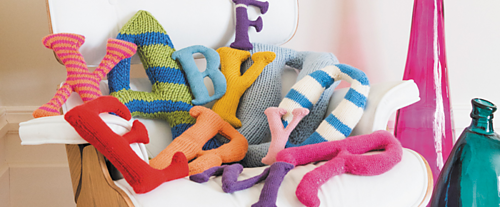 Knitting And Stitch Craft Show : Ravelry: Knit the Alphabet pattern by Claire Garland