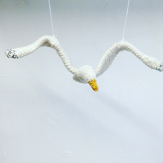 Ravelry Flying Seagull Pattern By Claire Garland