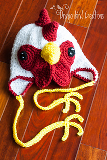 Ravelry  Rooster Hat pattern by Shawn Torres 70940e267ef