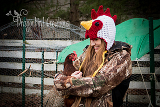 f2bada9c078 Ravelry  Rooster Hat pattern by Shawn Torres