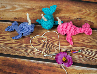 f9ea22292e6 Ravelry  Narwhal  Unicorn Of The Sea pattern by Shawn Torres