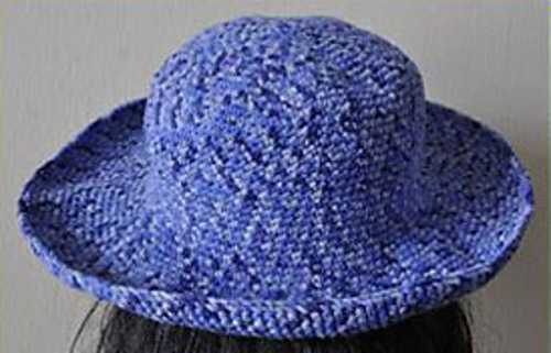 Ravelry Brimmed Crocheted Hat Pattern By Yine Hing