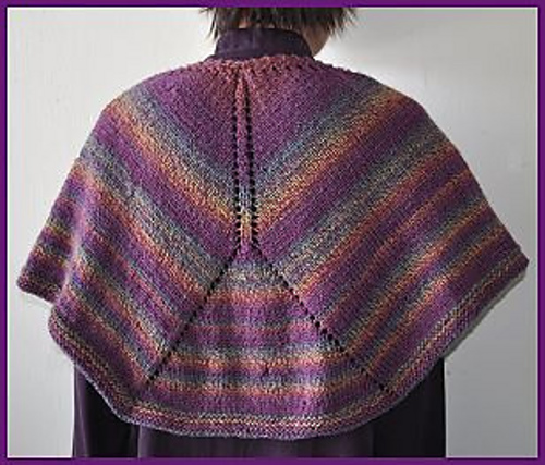 Ravelry Mendocino Shaped Shawl Pattern By Gail Tanquary