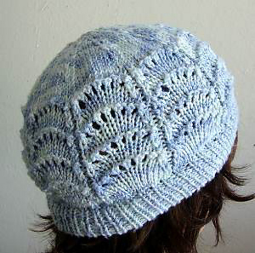 Ravelry Scallop Lace Hat Pattern By Gail Tanquary
