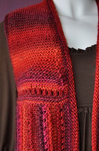 Ravelry Mochi Plus Mitered Square Vest Pattern By Gail Tanquary