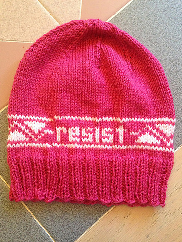 Ravelry Knitting As A Political Act Patterns