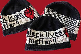 Ravelry Black Lives Matter Hat Pattern By Donna Druchunas