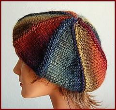 Tam Hat Knitting Pattern Free : Ravelry: Mochi Plus Tam / Beret pattern by Gail Tanquary