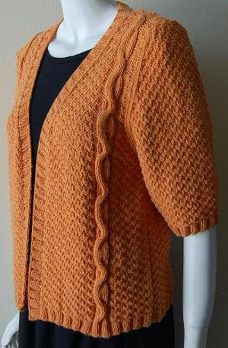Ravelry Cable Cardigan Sweater Pattern By Barbara Breiter