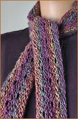 Ravelry: Mendocino Skinny Scarf pattern by Susan Druding