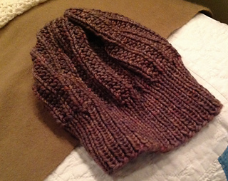c3c7a7b9cd5dbc Ravelry  The Perfect Knit Slouch Hat pattern by Carrissa Knox