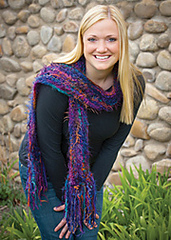 Yellowstone River Scarf PDF